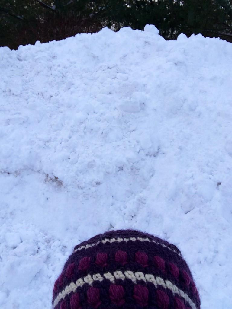 Cape Cod snow mountain